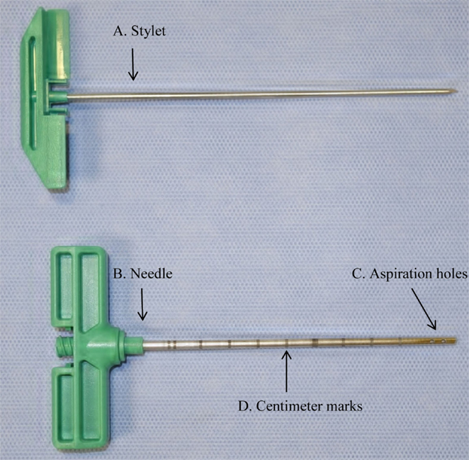 Bone Marrow Transplant Needle