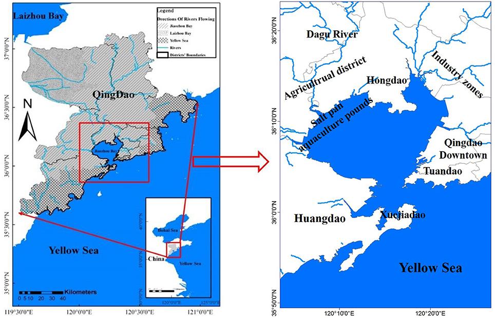 Yellow Sea Location Frontiers | Distributi...