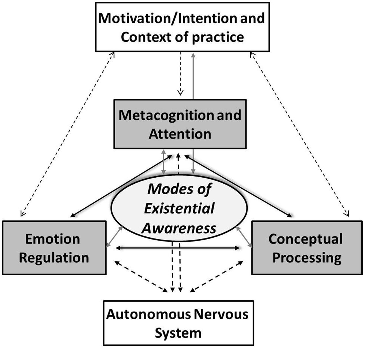 frontiers defining contemplative science the metacognitive self frontiersin org
