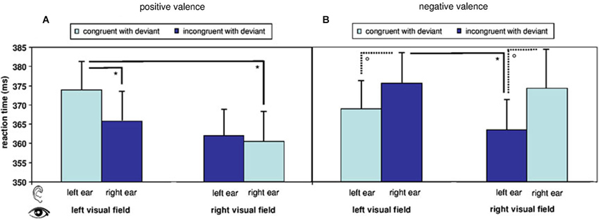 a research on the pathways and reaction time of visual and auditory stimuli on human The present study examined the effects of type of background music on speed of   if the pathways of motor and sensory system are intact reaction time will  depend on the ability of central processing of stimulus  to record reaction time  to visual and auditory stimuli with and  human sensory dominance.