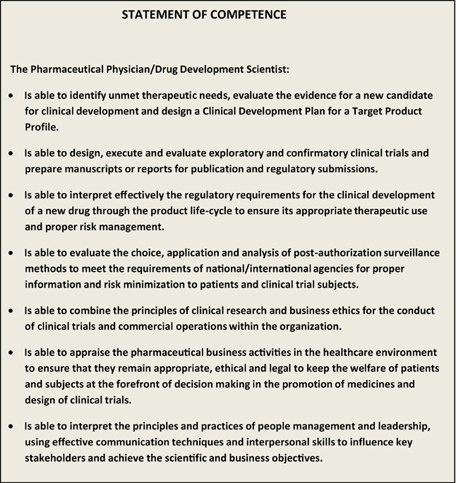 competency statement Once again, this is a simplified scenario, but what we did here was create a simple competency statement to address the candidate's inherent talents (natural artistic ability), acquired learning (experience and technical know-how), and behaviors (works well with others to produce great work.