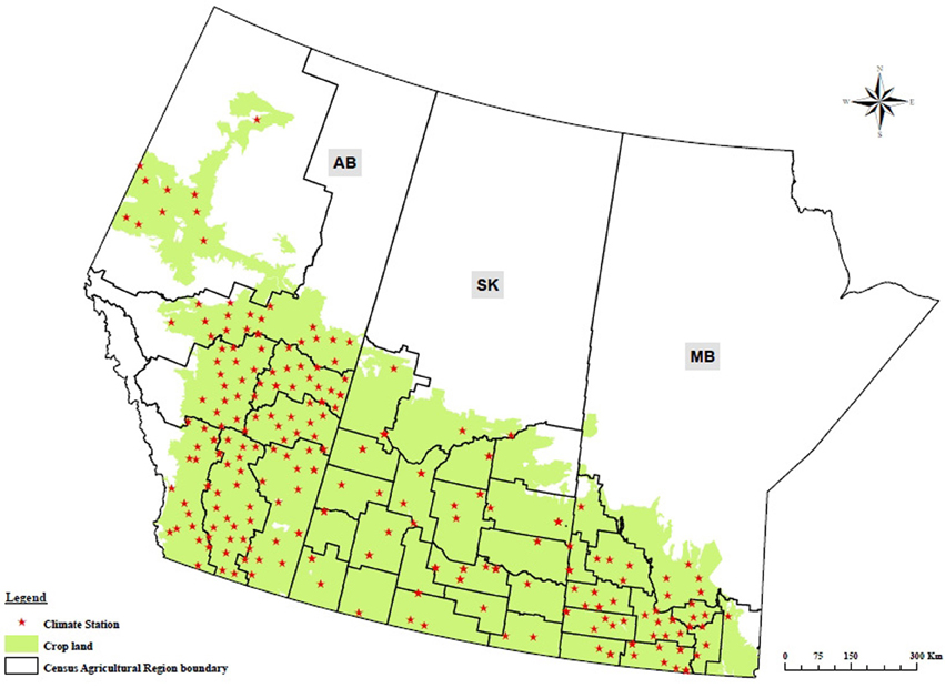 Frontiers an integrated probabilistic model for for Soil zones of alberta