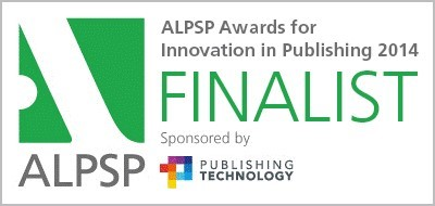 Frontiers wins the ALPSP Award for Innovation in Publishing 2014