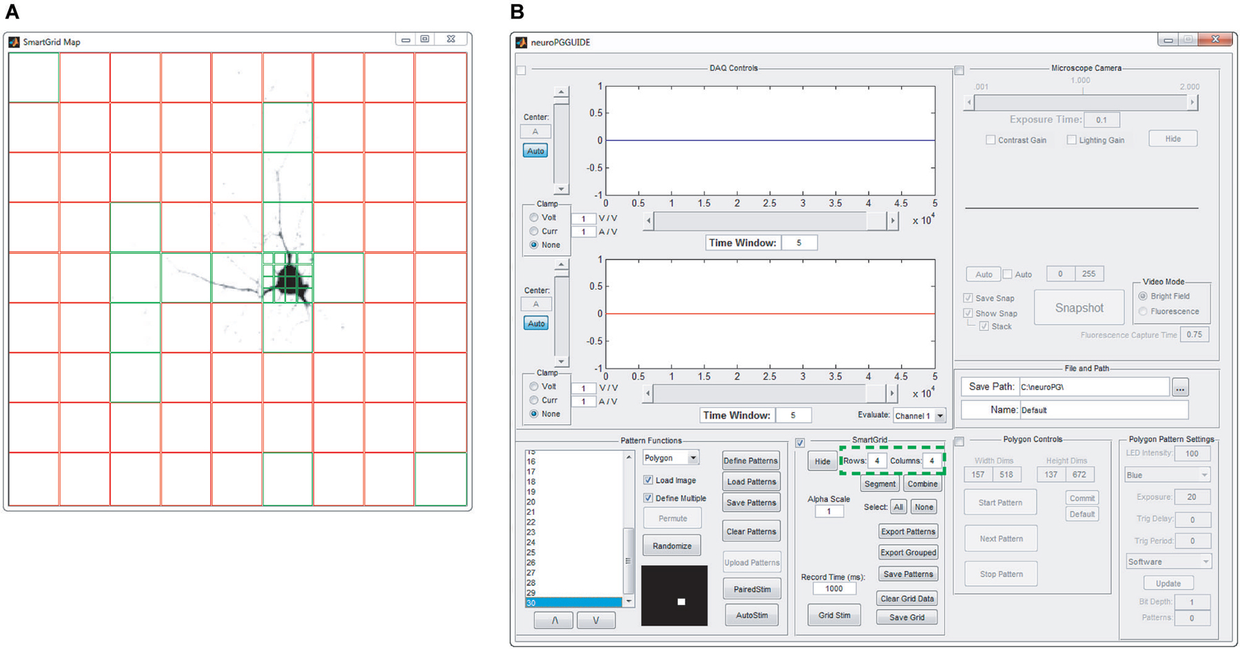 Frontiers | NeuroPG: open source software for optical pattern