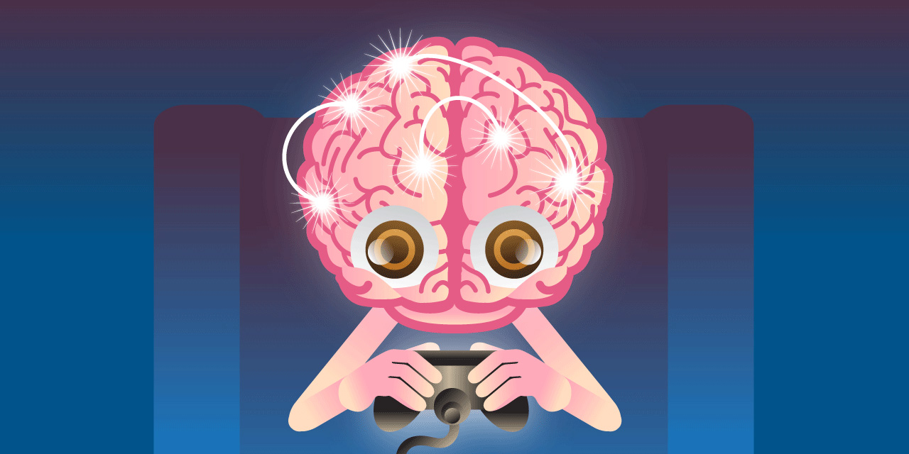 Adult Video Gameplay ever wondered what playing video games does to your brain