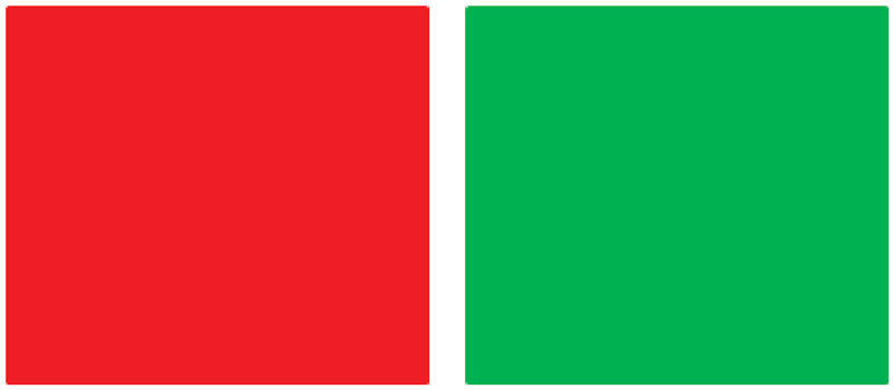 Figure 2 - What color are these squares?