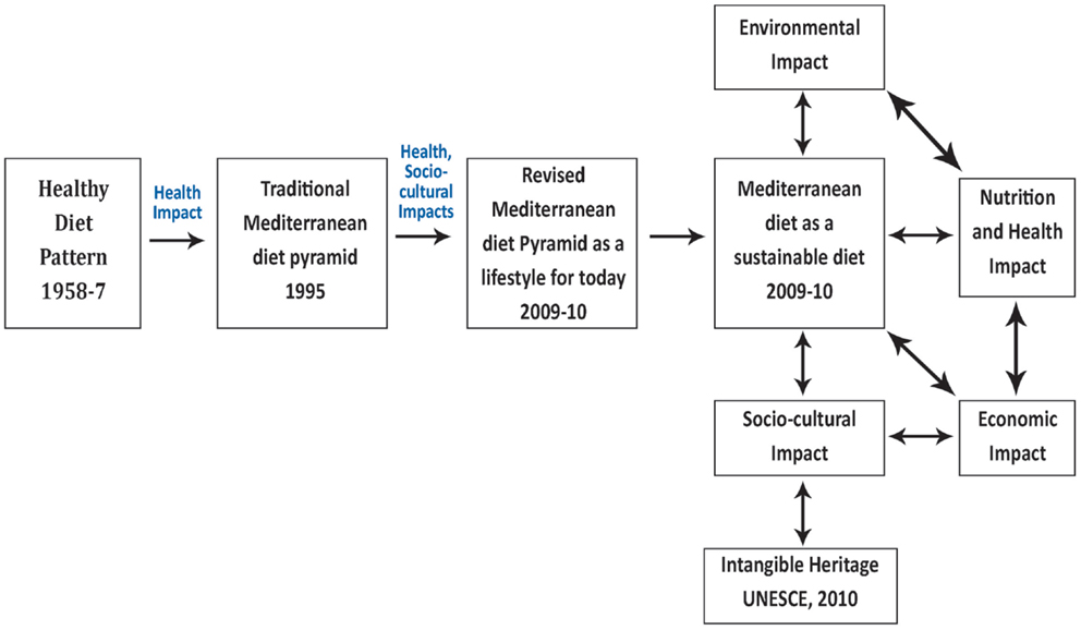 Mediterranean Diet: From a Healthy Diet to a Sustainable Dietary Pattern