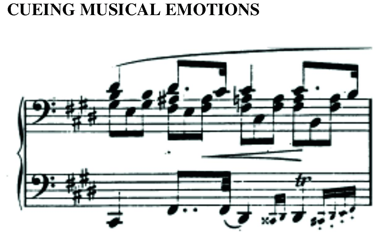 Frontiers | Cueing musical emotions: An empirical analysis