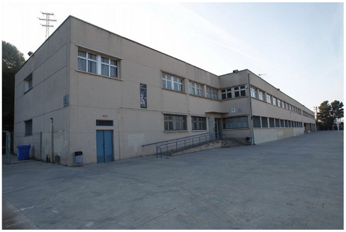 Figure 1 - Our school in Molins de Rei, Spain.