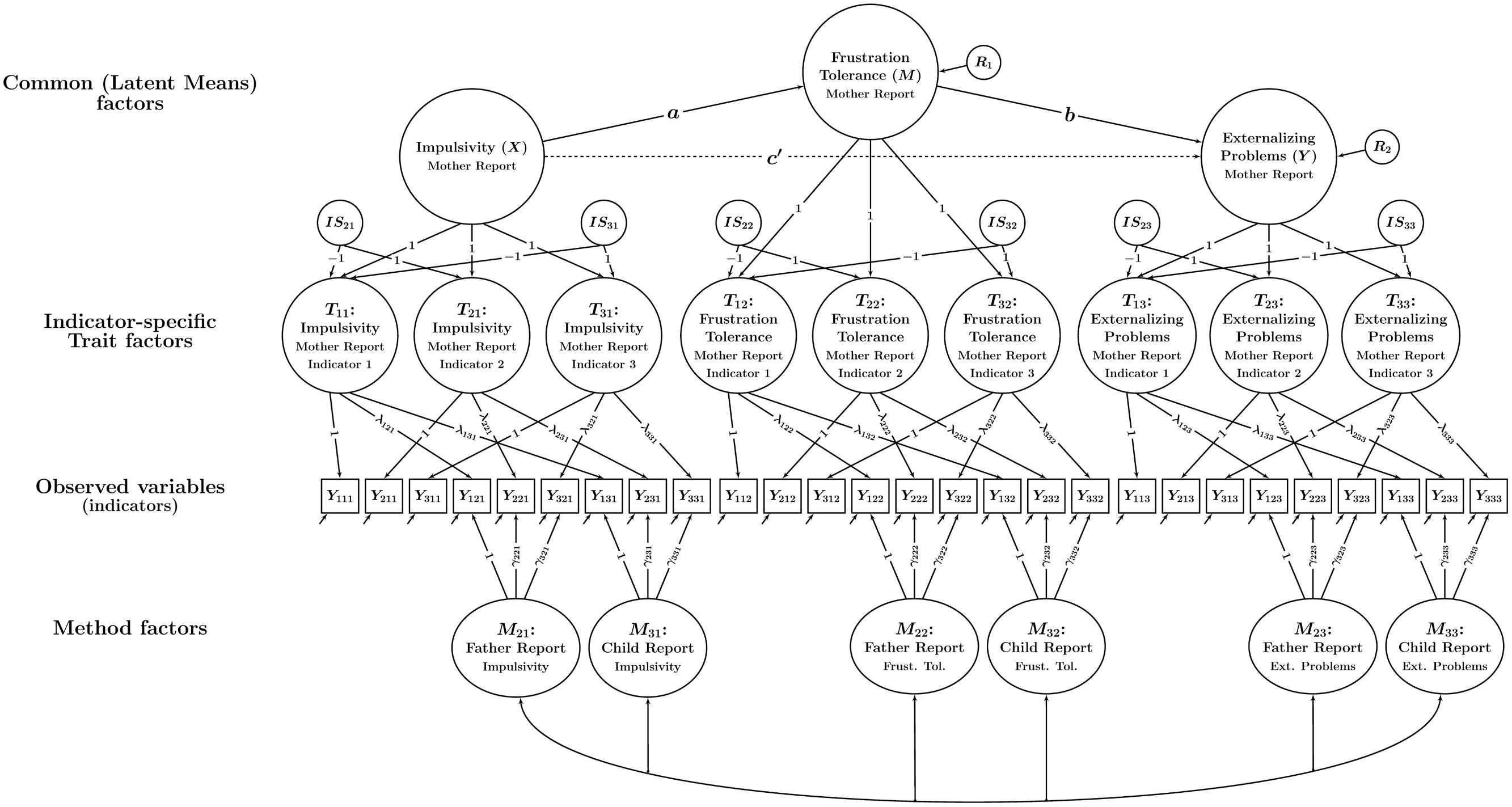 Frontiers Analyzing Statistical Mediation With Multiple Informants First Combustion Engine Diagram