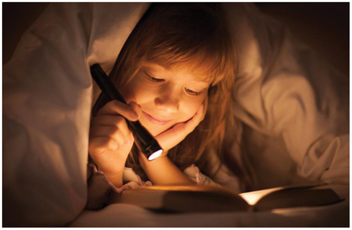 Figure 1 - Have you ever stayed awake at night because you could not put your book down?