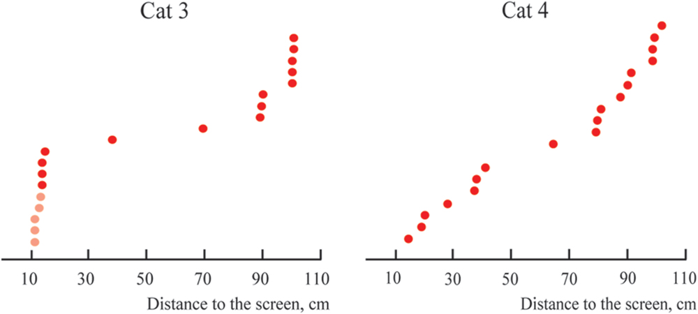 Frontiers | Absolute Depth Sensitivity in Cat Primary Visual