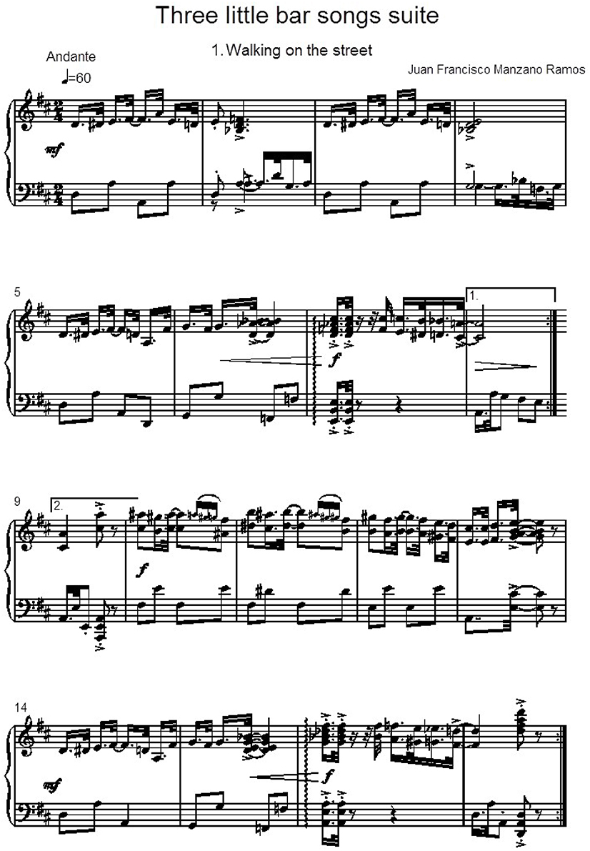 Frontiers   Influence of Tempo and Rhythmic Unit in Musical