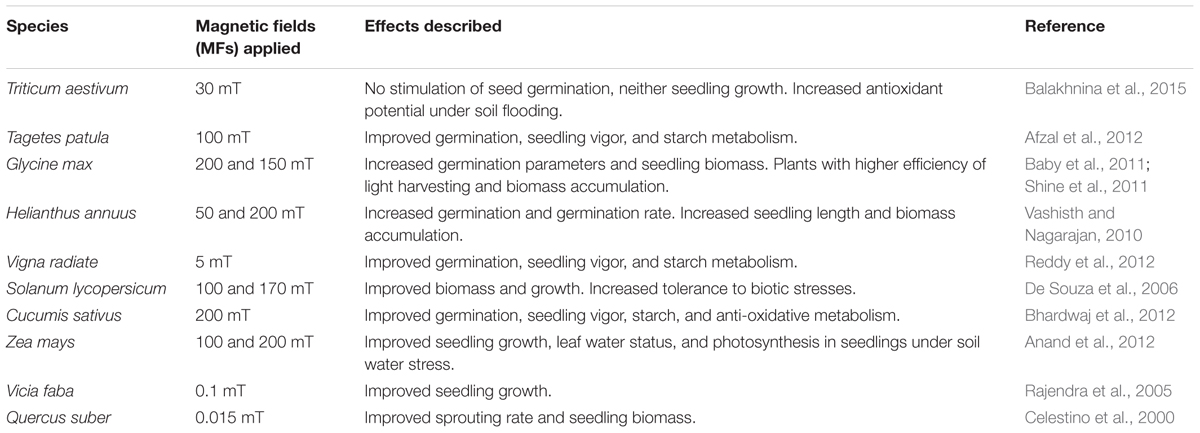 Frontiers   Physical Methods for Seed Invigoration: Advantages and ...