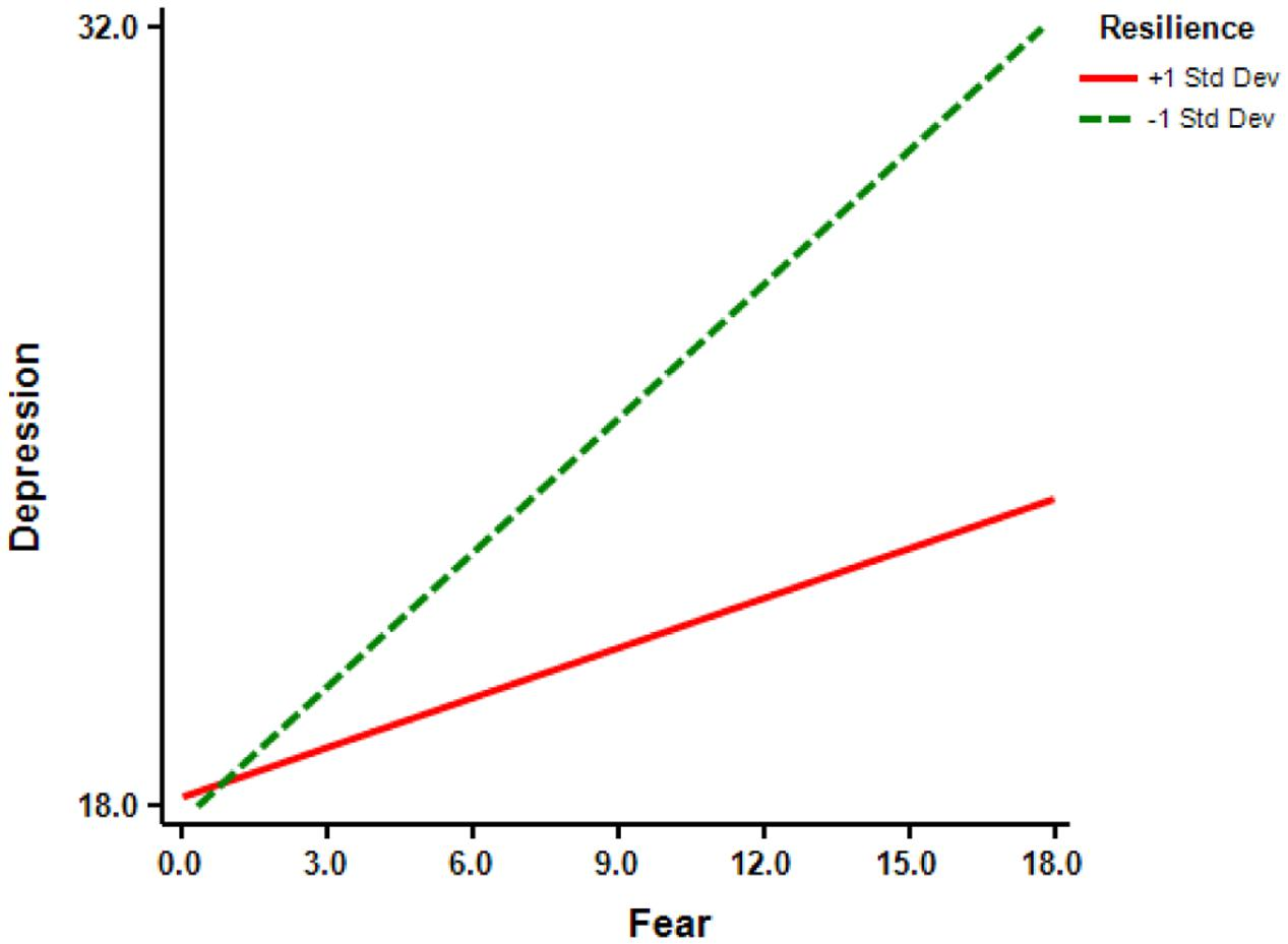 relationship between resilience and depression