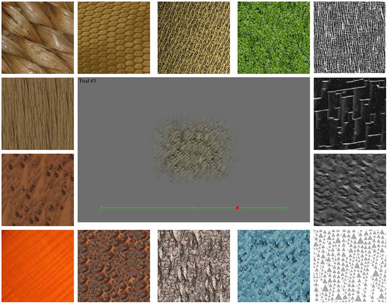 Frontiers | Aesthetics by Numbers: Links between Perceived Texture Qualities and Computed Visual ...