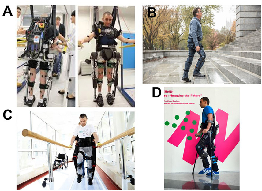 Frontiers Mechatronic Wearable Exoskeletons For Bionic