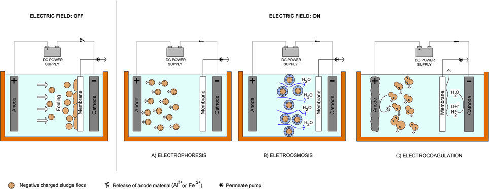 Frontiers Combination Of Electrochemical Processes With