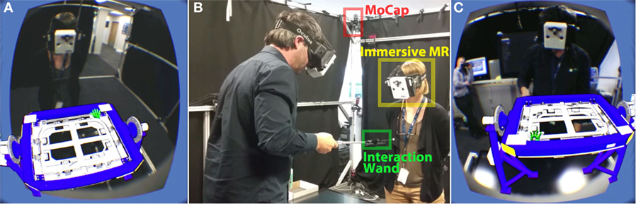 Frontiers | Immersive Mixed Reality for Manufacturing Training