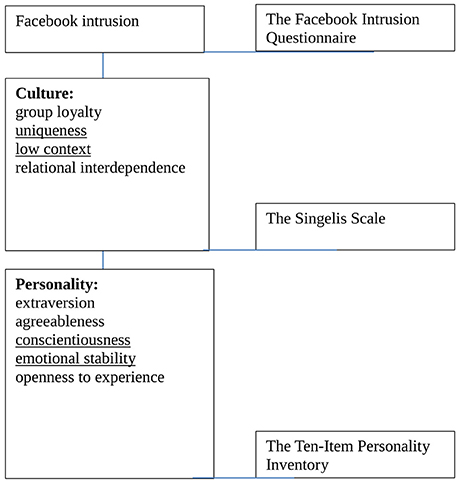 Frontiers | Cultural and Personality Predictors of Facebook