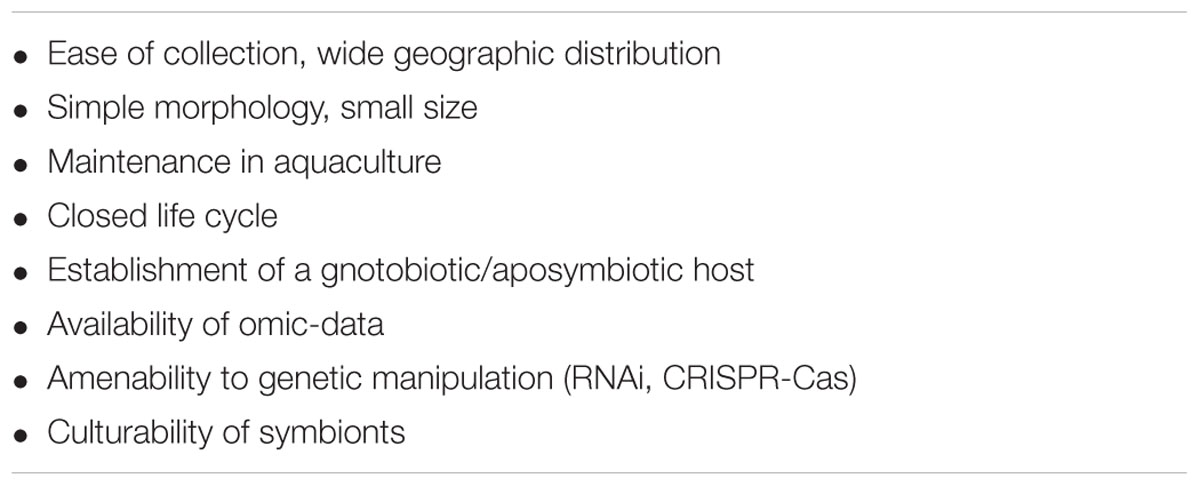Frontiers Emerging Sponge Models Of Animal Microbe Symbioses