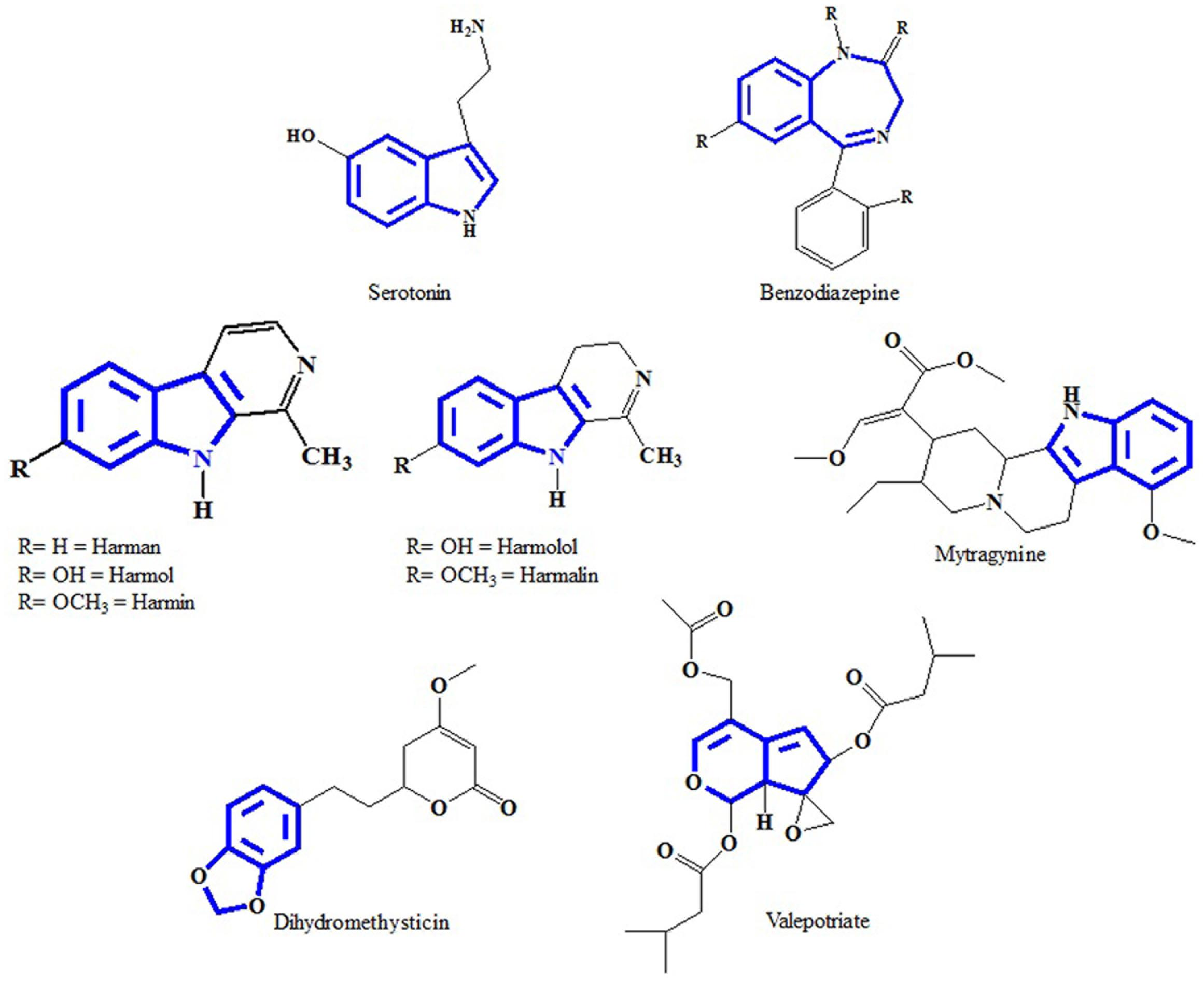 Frontiers | Indole Alkaloids from Plants as Potential Leads