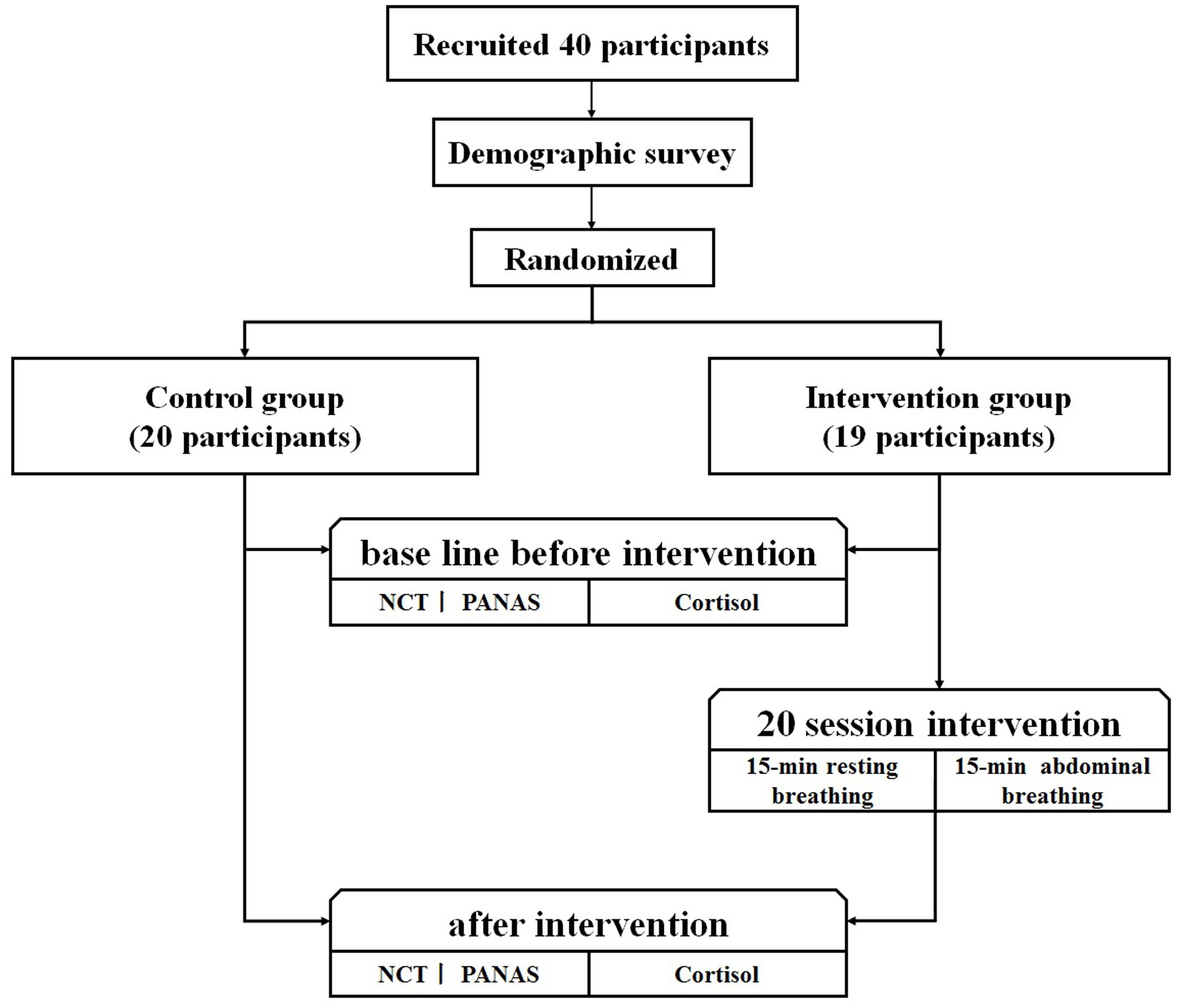 Frontiers | The Effect of Diaphragmatic Breathing on Attention