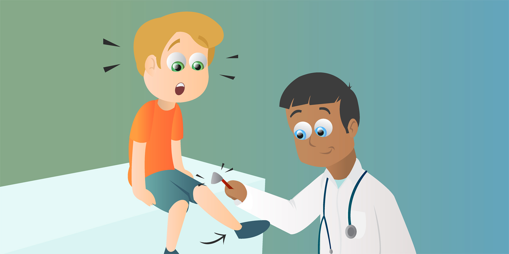 When Kicking the Doctor Is Good—A Simple Reflex · Frontiers for