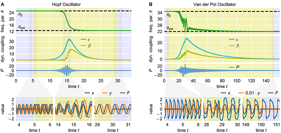 Frontiers | Fast Dynamical Coupling Enhances Frequency Adaptation of