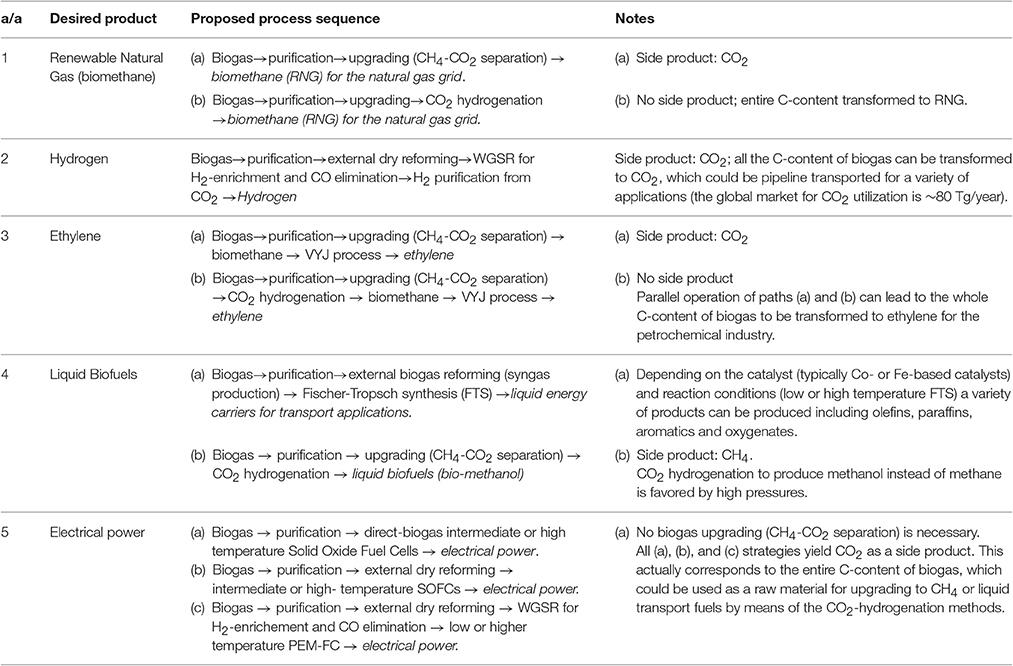Frontiers | Biogas Management: Advanced Utilization for Production