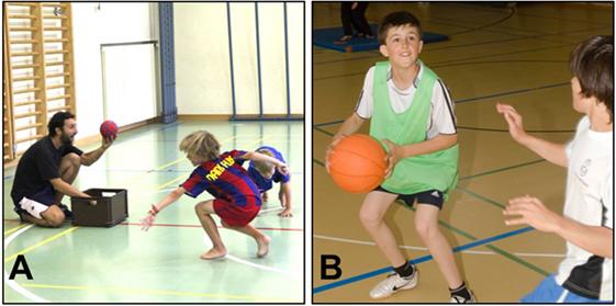 איור 2 - שתי הפעילויות של קבוצת אימון המוח.