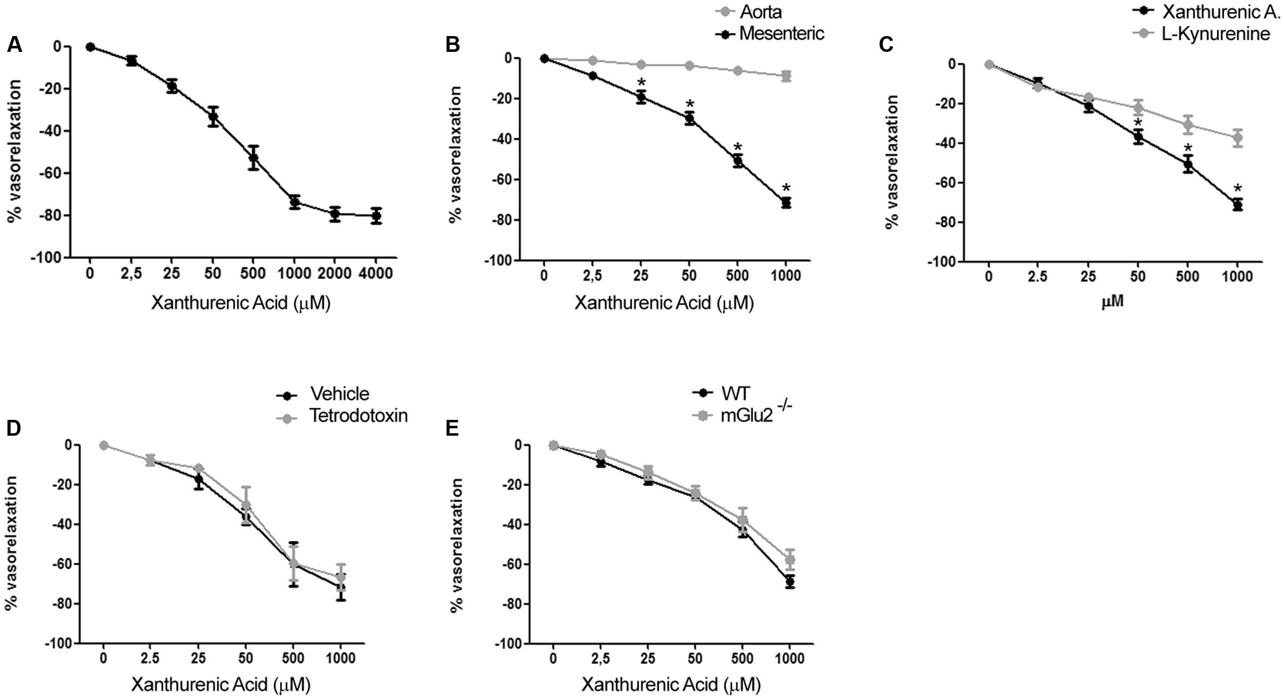 Frontiers Vasorelaxing Action Of The Kynurenine Metabolite Electrical Wiring Diagrams For Dummies 1700 2550