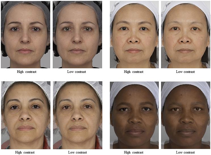 Facial features and national origin