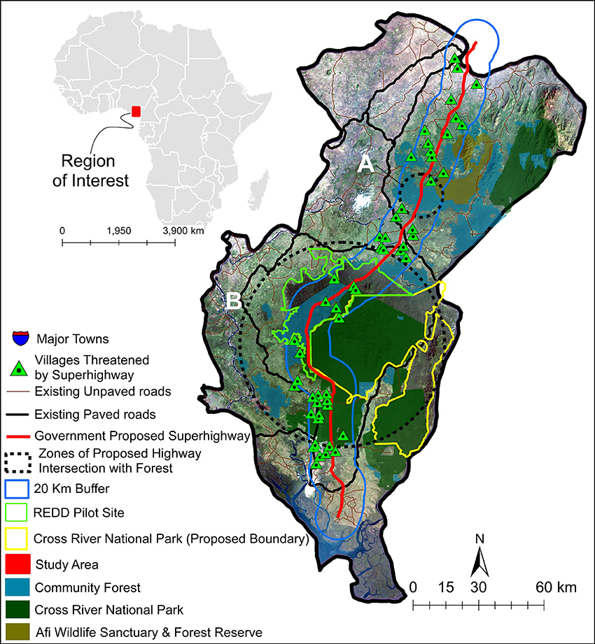 Frontiers | Road Expansion and the Fate of Africa's Tropical