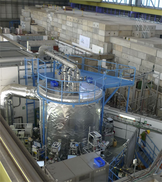 Figure 3 - The CLOUD experiment at CERN.