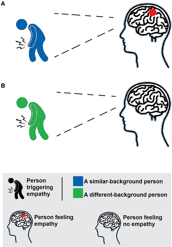 Figure 2 - Empathy is selective.
