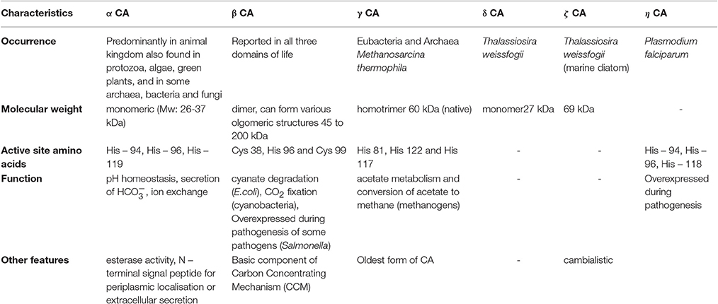 Frontiers microbial carbonic anhydrases in biomimetic carbon frontiersin fandeluxe Choice Image