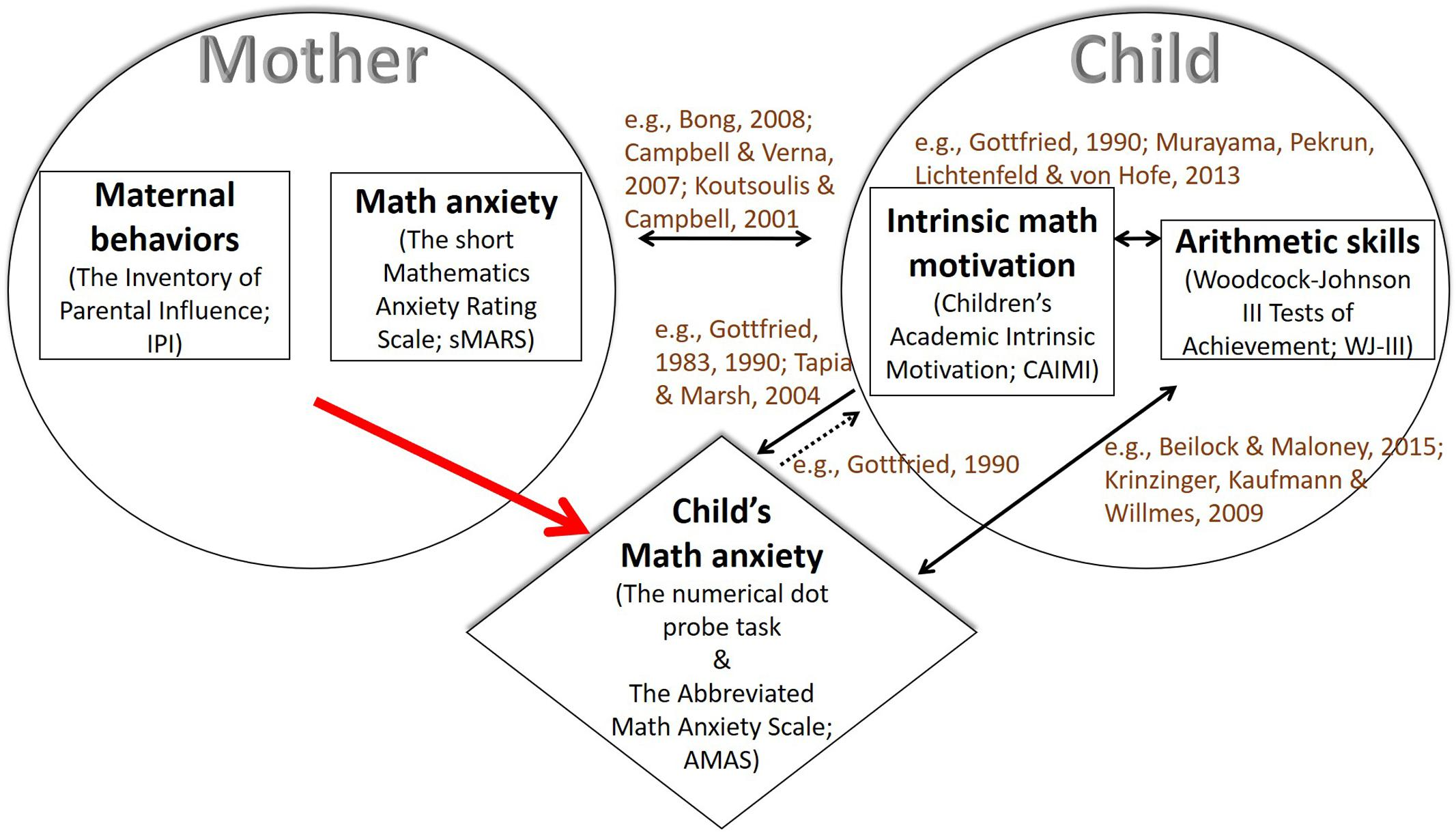 Frontiers | Mothers, Intrinsic Math Motivation, Arithmetic Skills ...