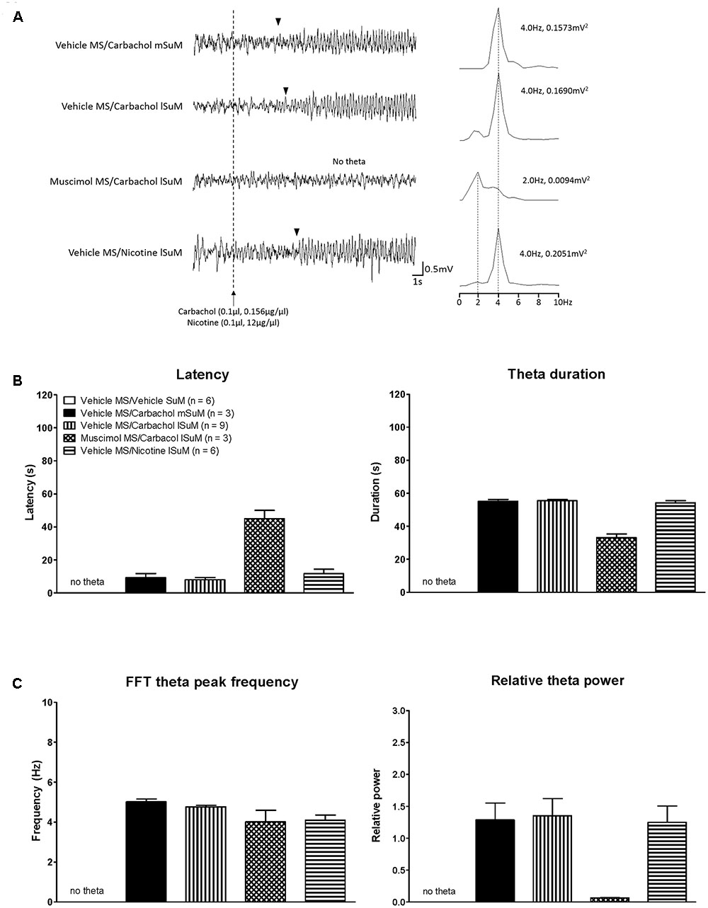 Frontiers Medial Septum Modulates Cellular Response Induced In 2006 Pace Arrow Slide Out Wiring Diagram