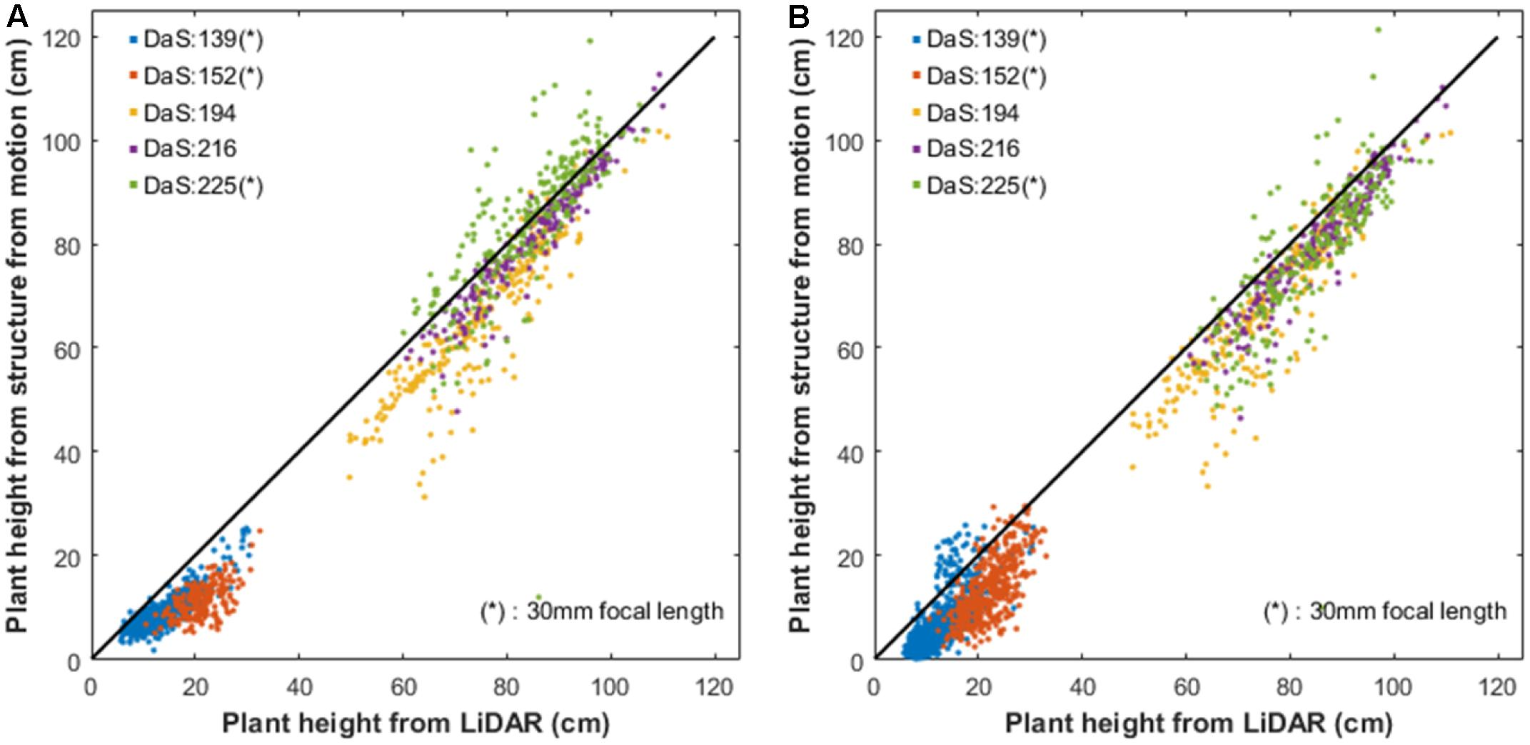 Frontiers | High-Throughput Phenotyping of Plant Height