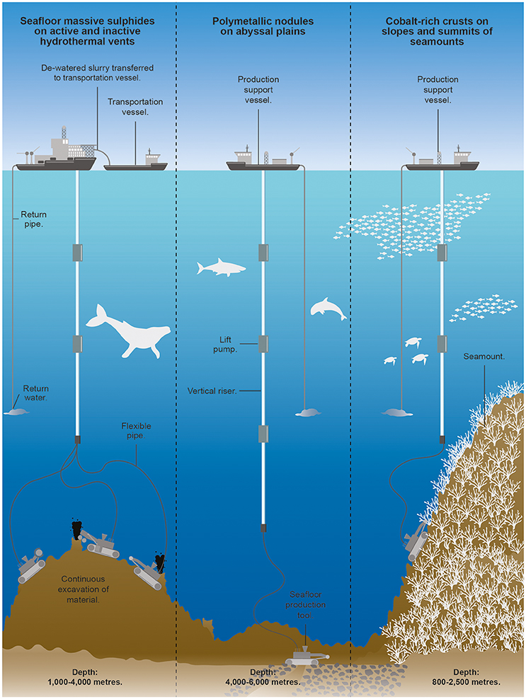 Frontiers | An Overview of Seabed Mining Including the Current State