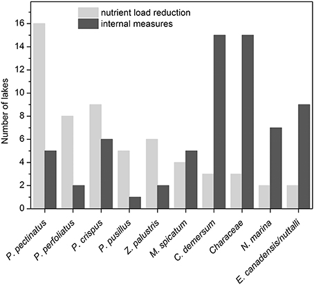 Frontiers | Response of Submerged Macrophyte Communities to External ...