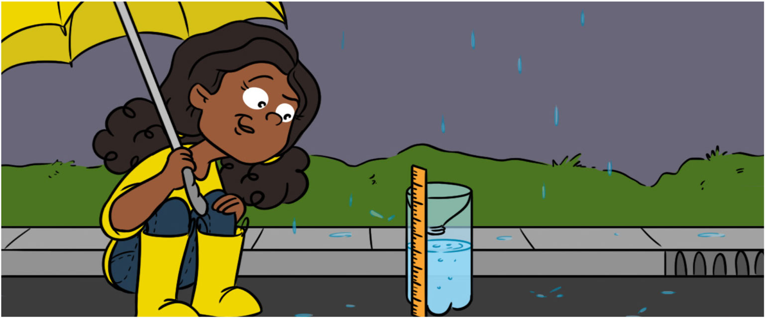 How Do We Measure Rainfall? · Frontiers for Young Minds