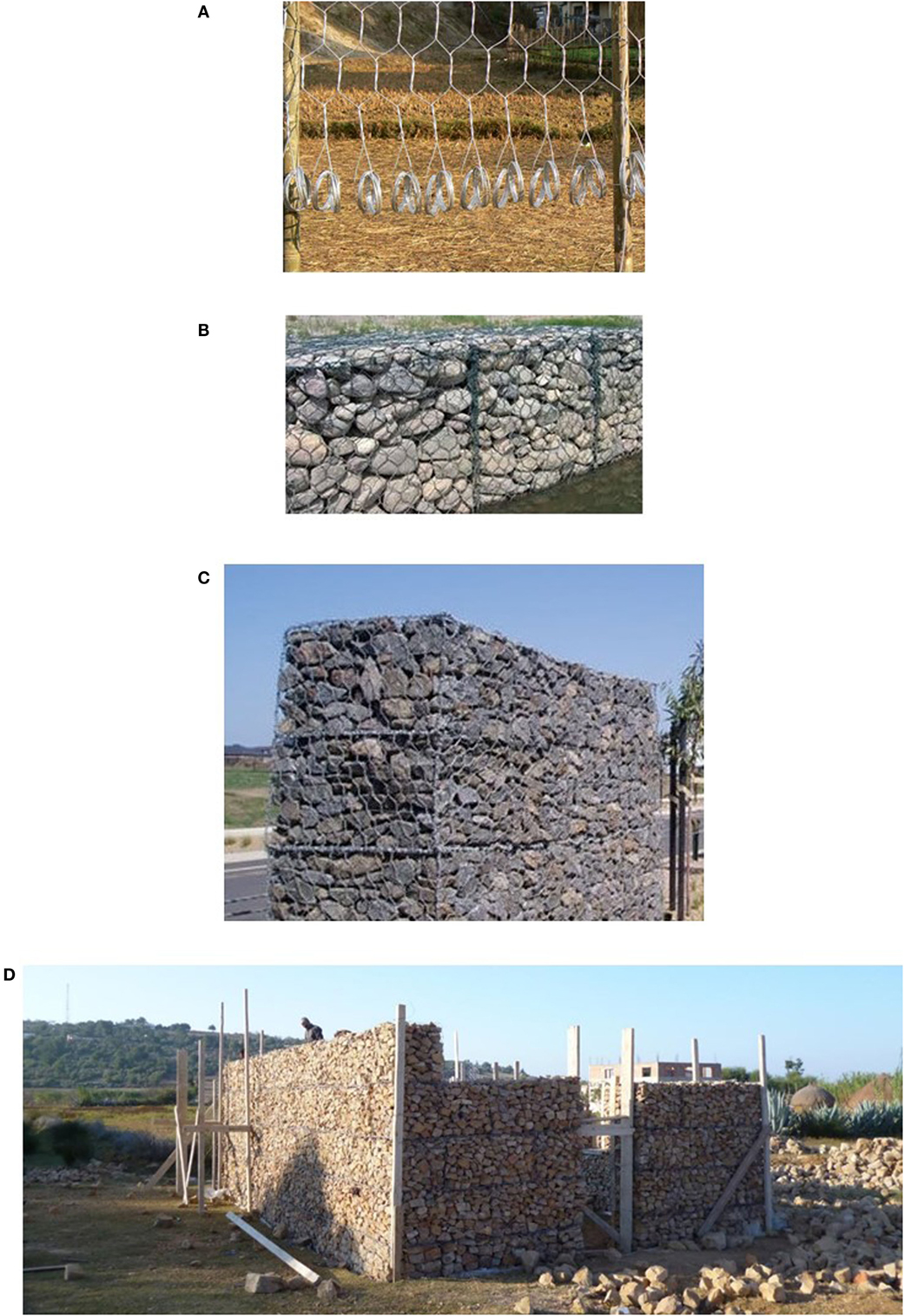 Gabion structures: photo, device, application 24