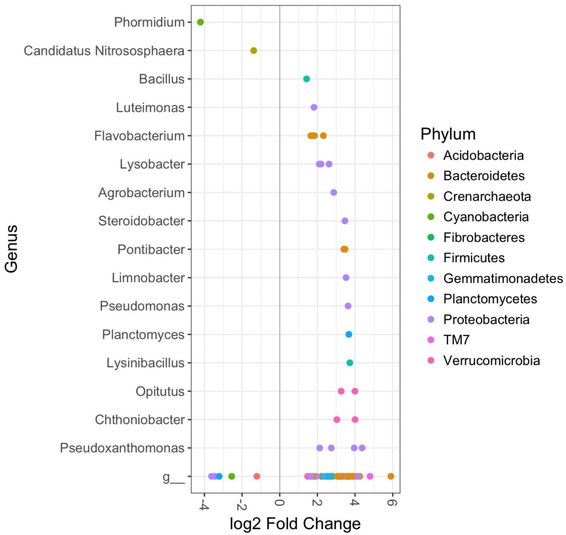 Frontiers | Rhizosphere Bacterial Communities Differ According to