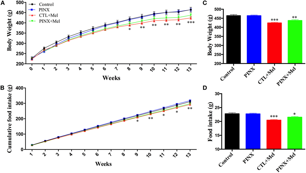 Frontiers Melatonin Absence Leads To Long Term Leptin Resistance