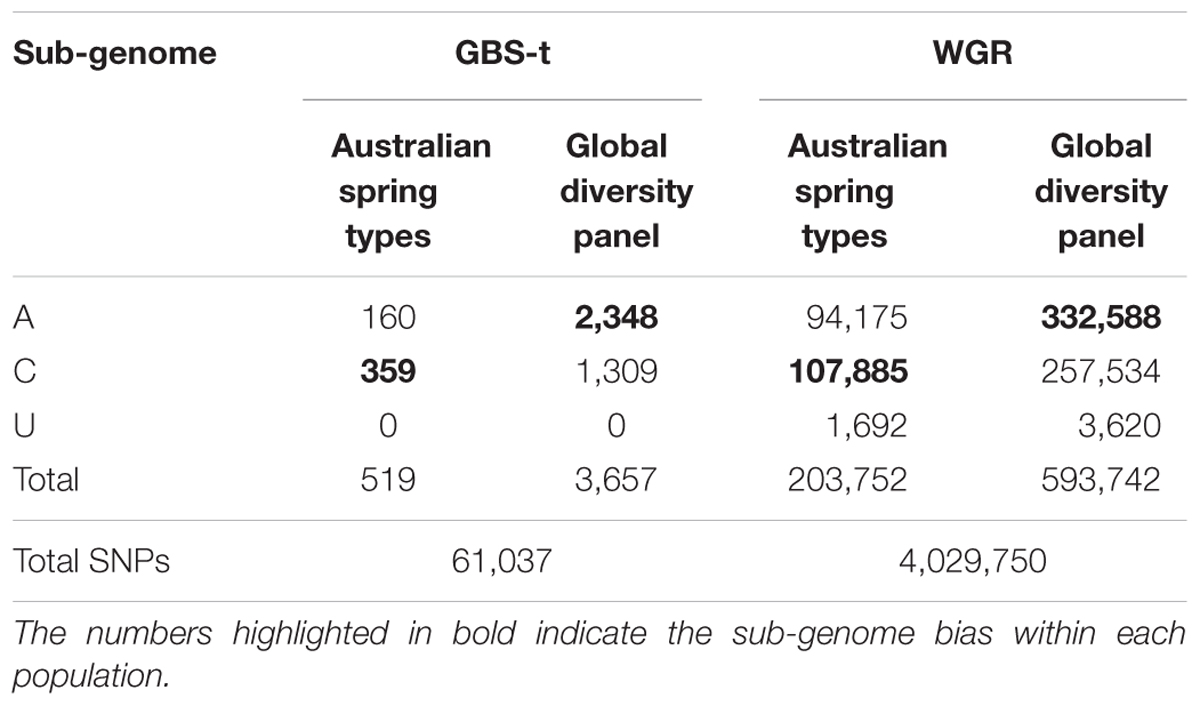 Frontiers | Diversity and Genome Analysis of Australian and