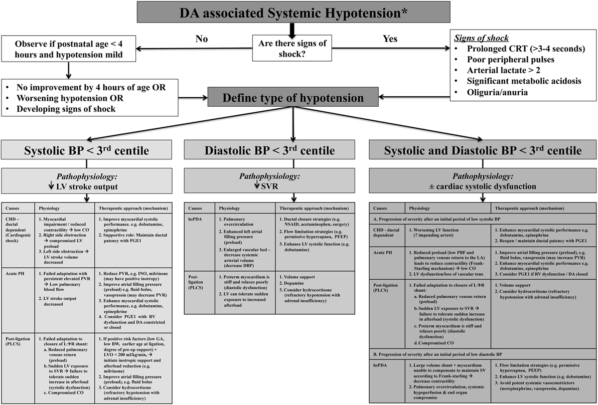 Frontiers Circulatory Insufficiency And Hypotension Related To The