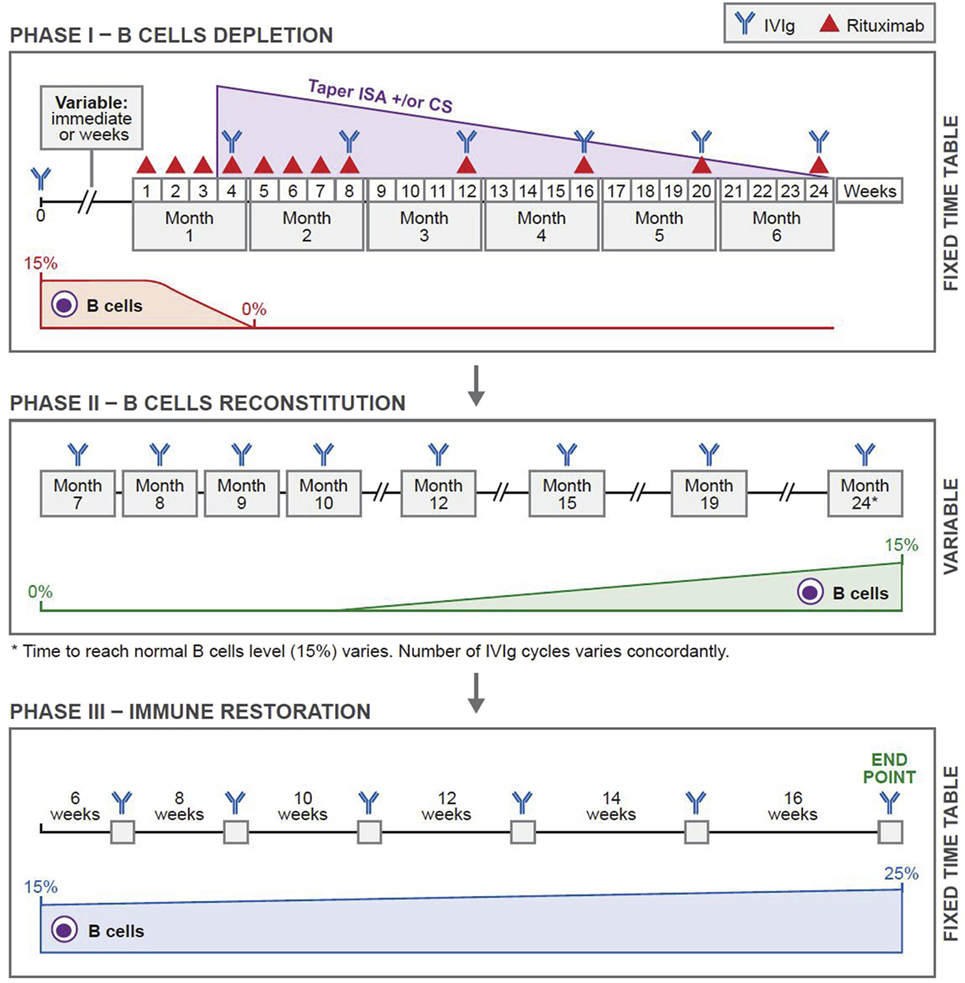 Frontiers   Reversing Autoimmunity Combination of Rituximab