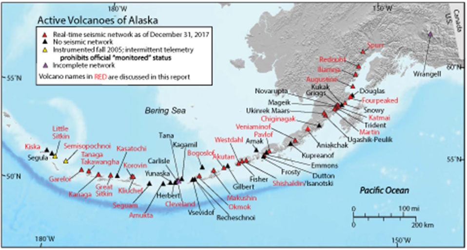 Frontiers Alaska Volcano Observatory Alert And Forecasting